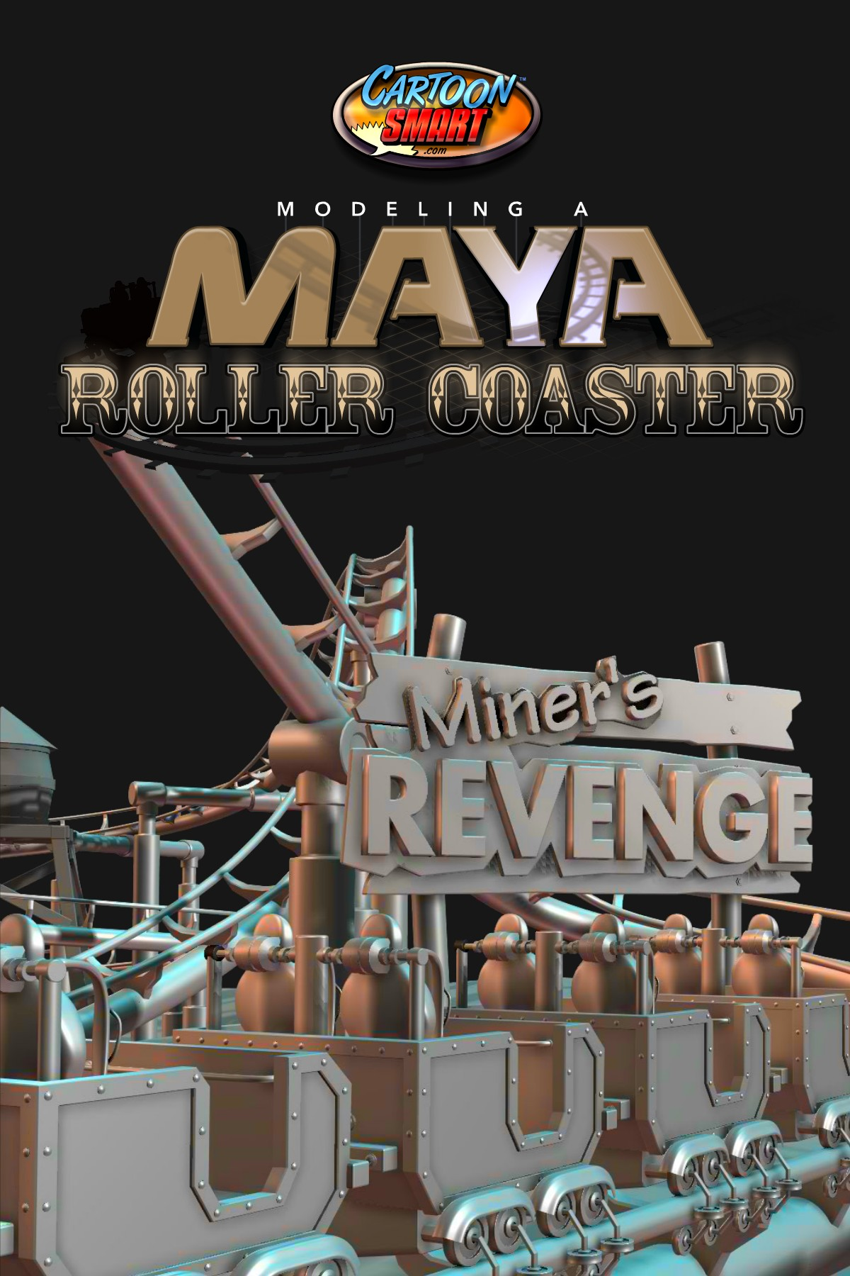 Maya Modeling Tutorial - Roller Coaster