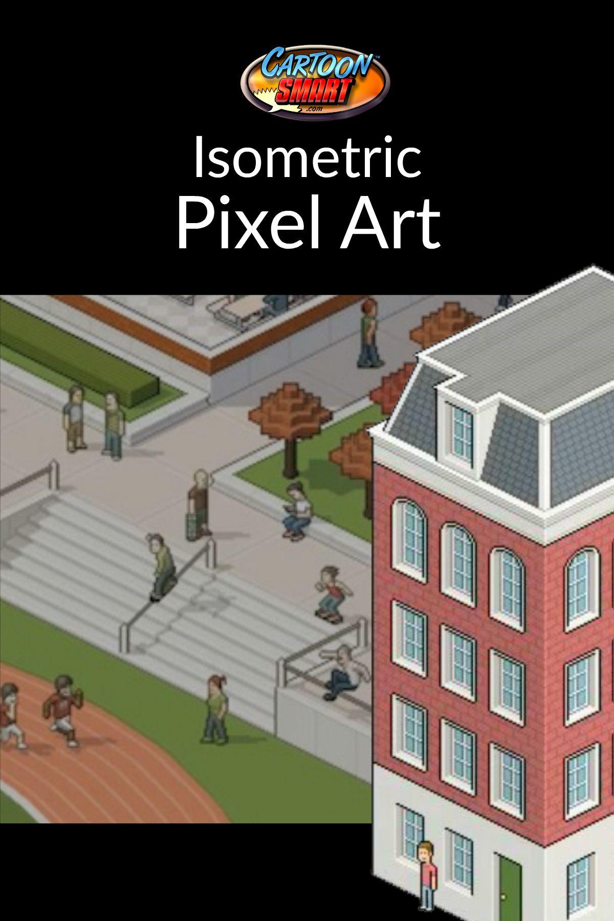 Isometric Pixel Art Video Tutorial