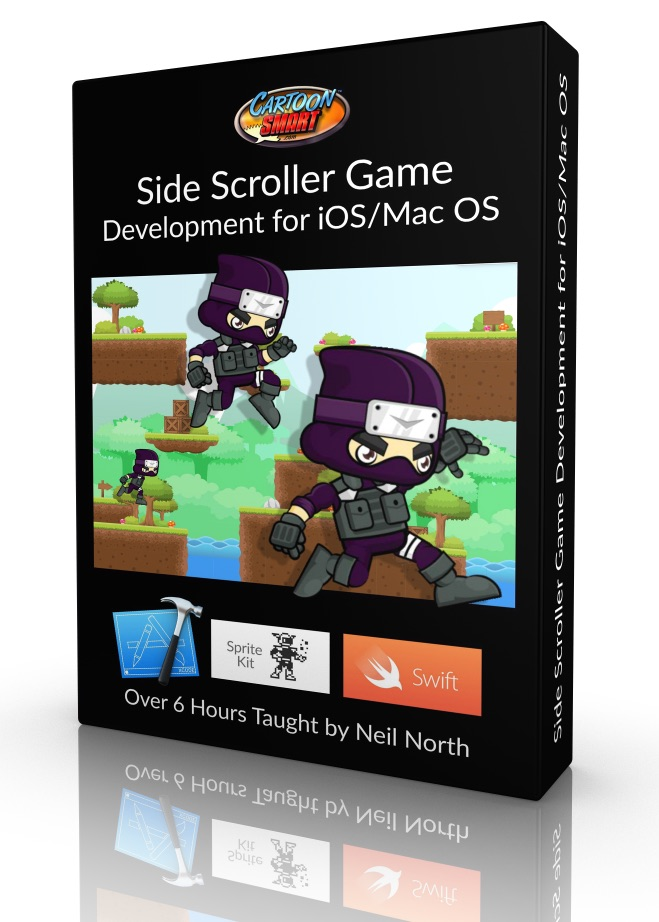 Side Scroller Game Development Tutorials for iOS and Mac OS