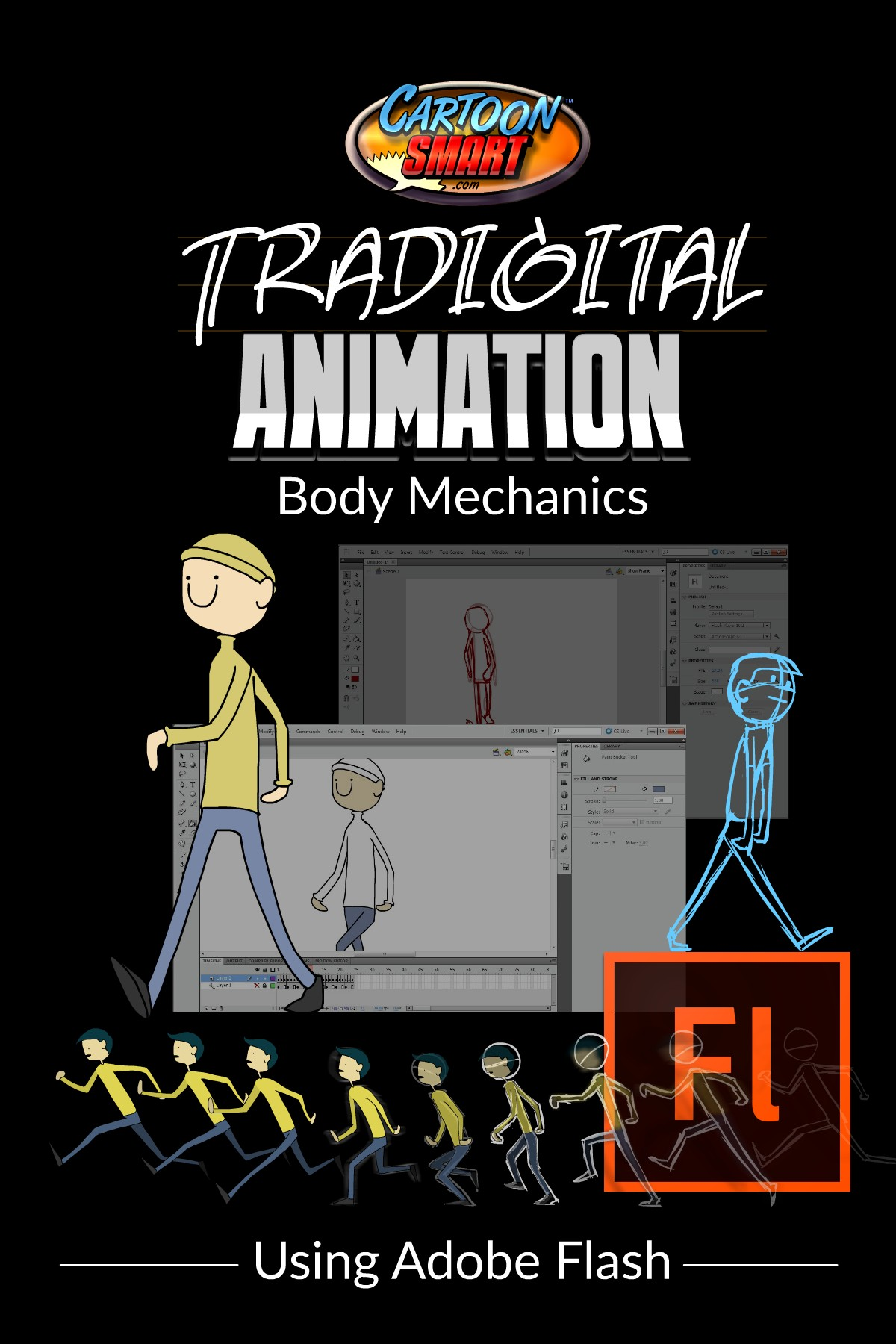Tradigital Animation Tutorial - Body Mechanics