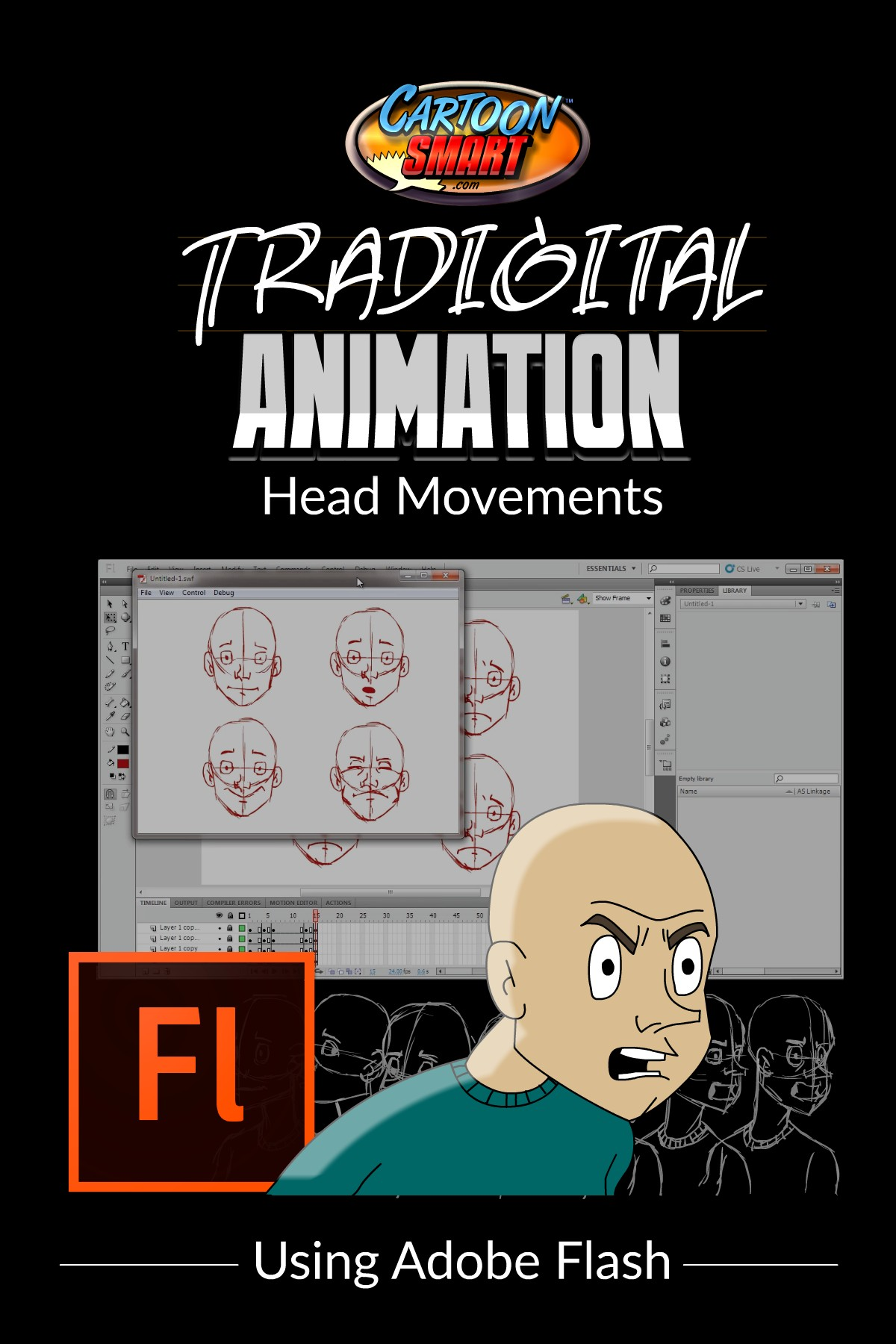 Tradigital Animation Tutorial - Head Movements