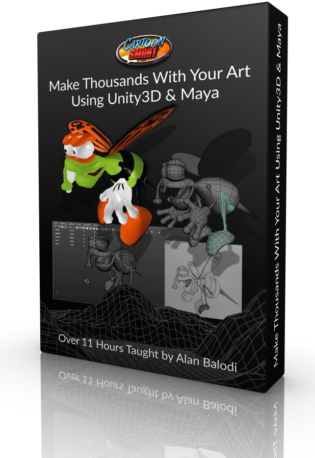 New Course – Make Thousands with Your Art Using Unity3D & Maya!