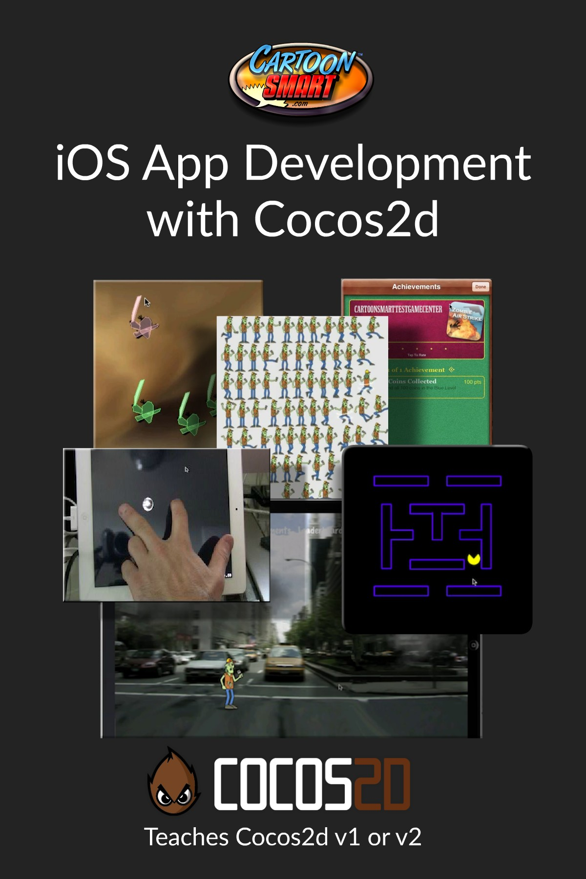 iOS App Development with Cocos2d - Video Tutorials
