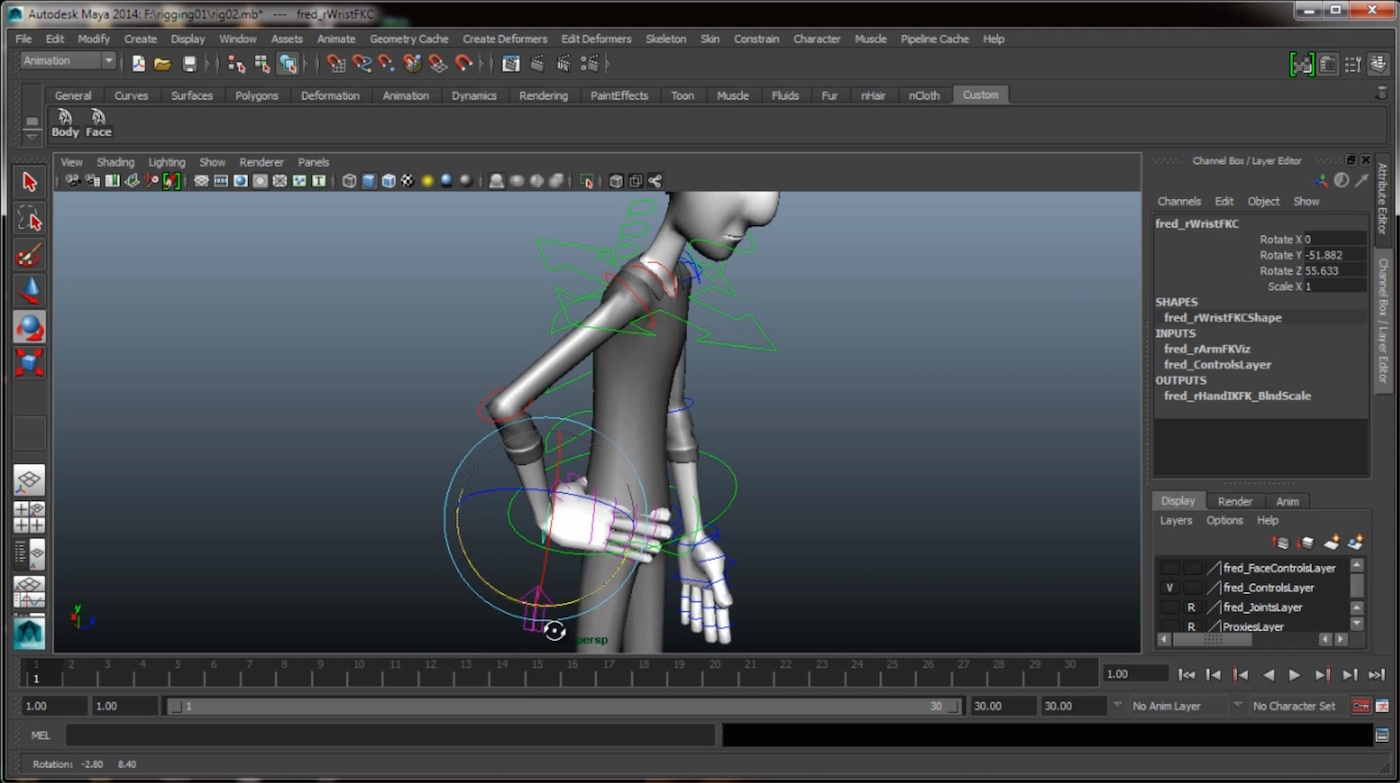 maya character animation video tutorial. Black Bedroom Furniture Sets. Home Design Ideas