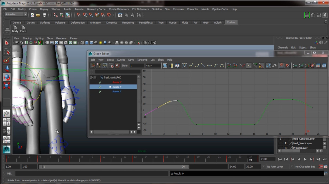 Maya Character Animation Video Tutorials