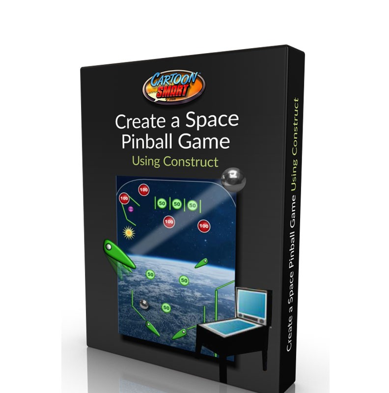 Space Pinball Game Tutorial using Construct 2