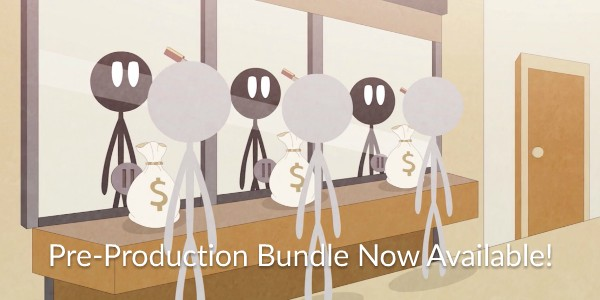 Scriptwriting! Storyboarding! Animatics! It's all here in our Pre-Production Bundle, now for Subscribers!