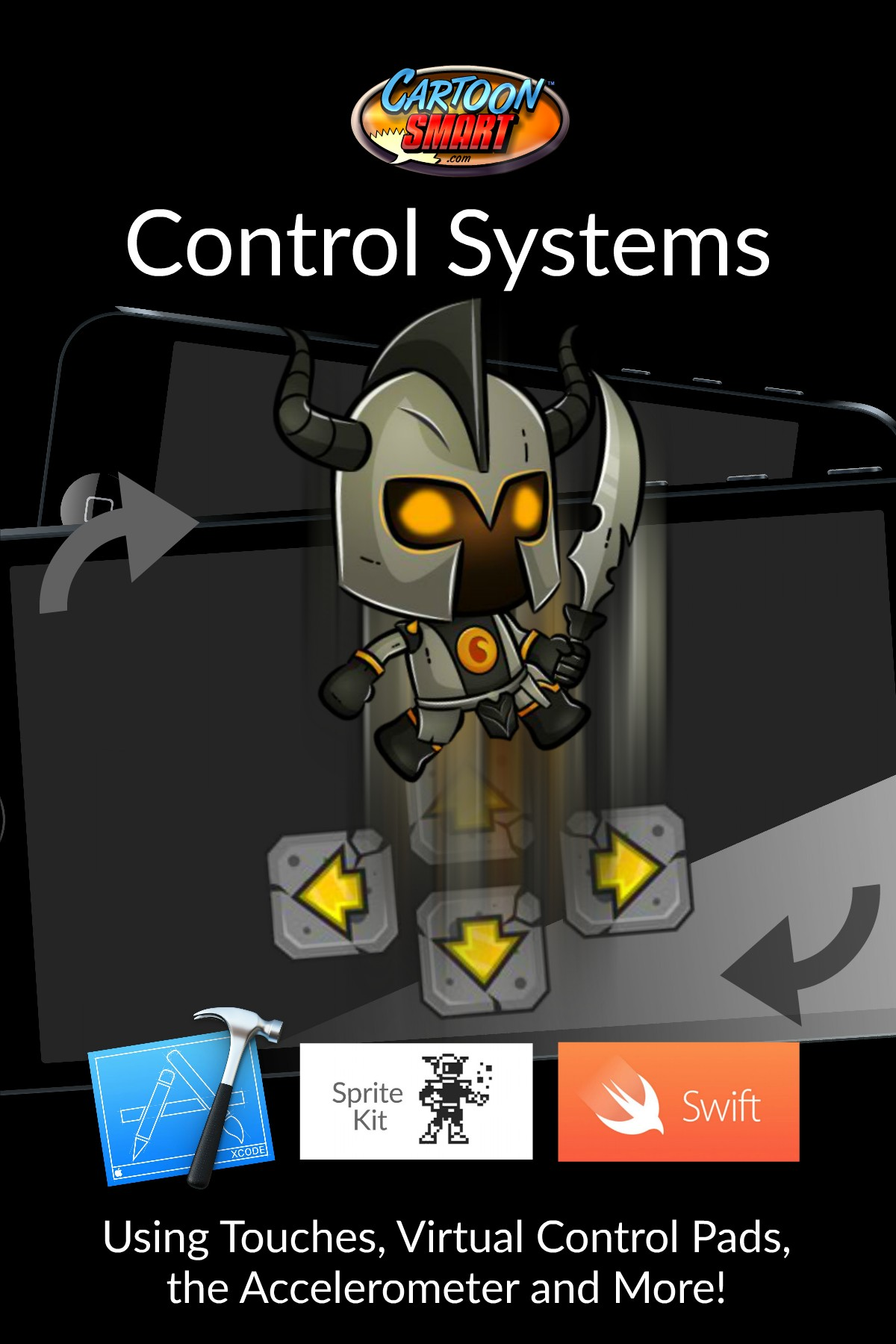 iOS Control Systems Tutorials - How to Move Characters