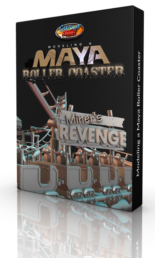 Modeling a Maya Roller Coaster tutorial now for Subscribers!