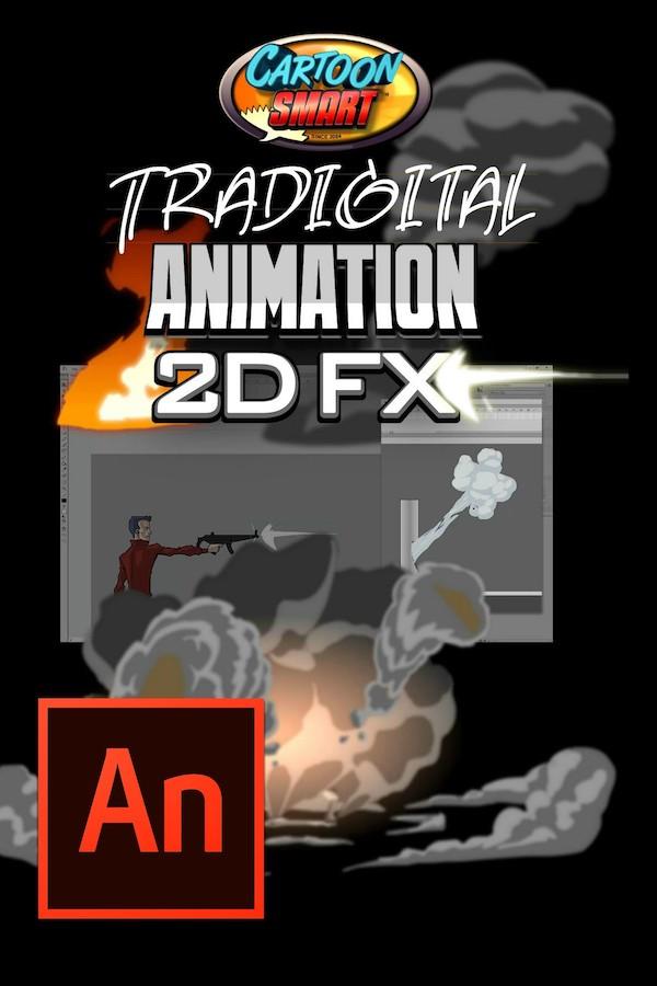 Adobe Animate Animation Tutorial - 2D FX