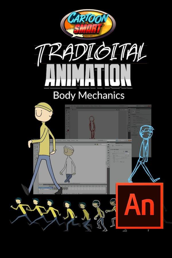 Adobe Animate Animation Tutorial - Body Mechanics