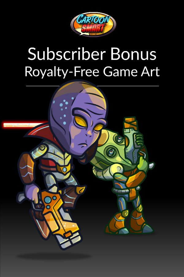 Bonus Box of Royalty Free Game Art February