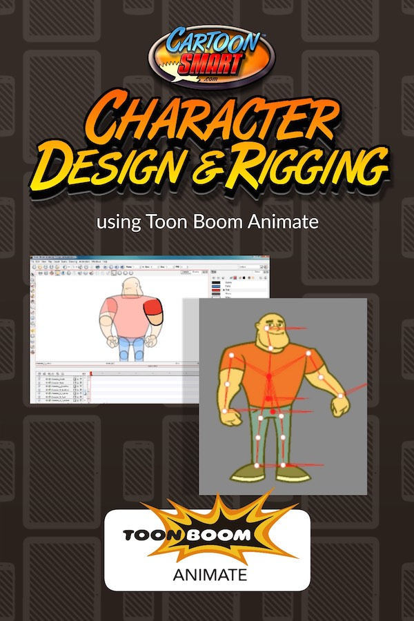 Character Design and Rigging -Toon Boom Animate Video Tutorial