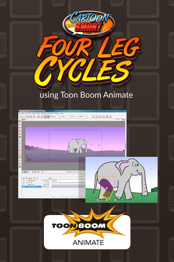 Four Leg Walk Cycles -Toon Boom Animate Video Tutorial