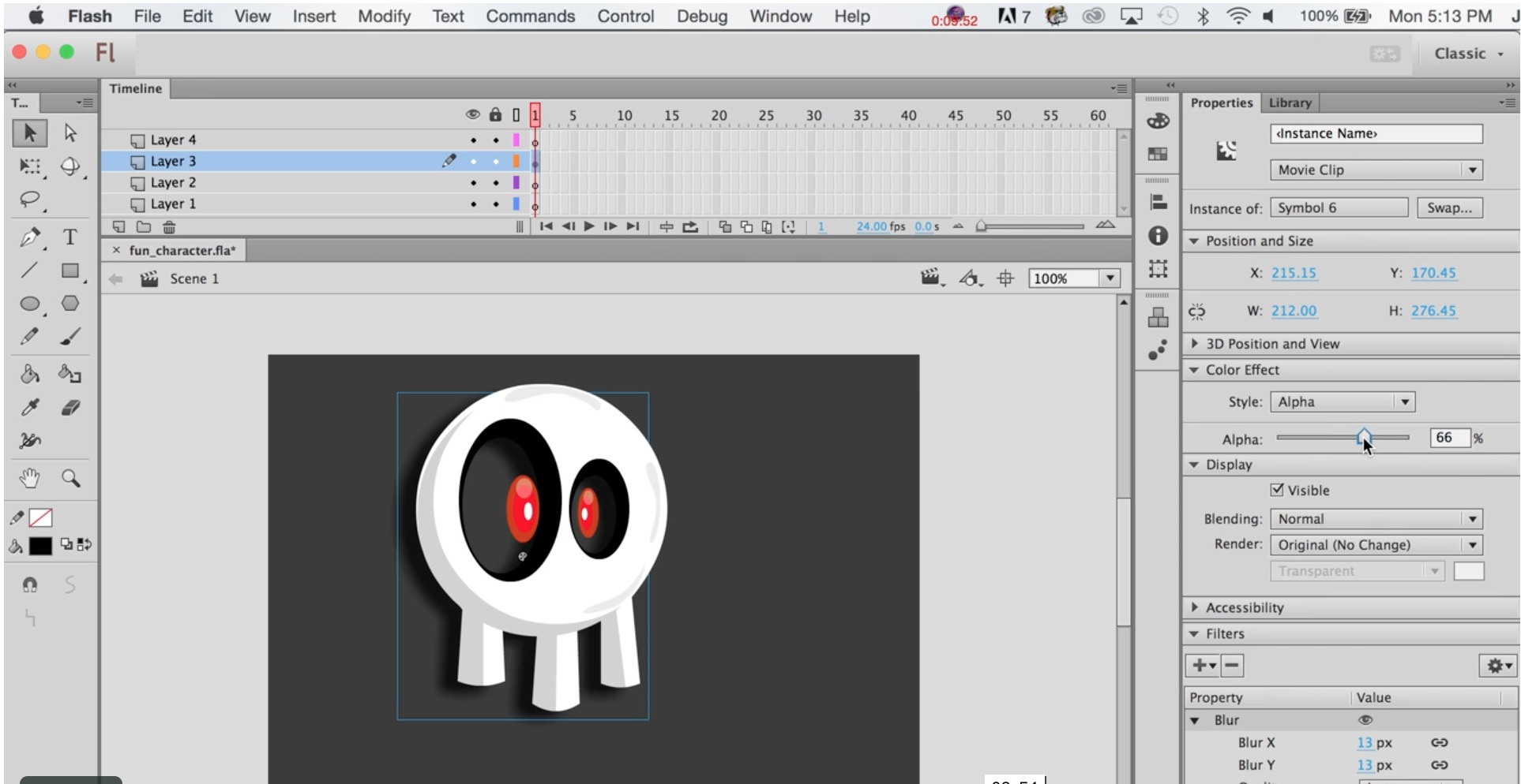 Illustration tutorial space invader icon