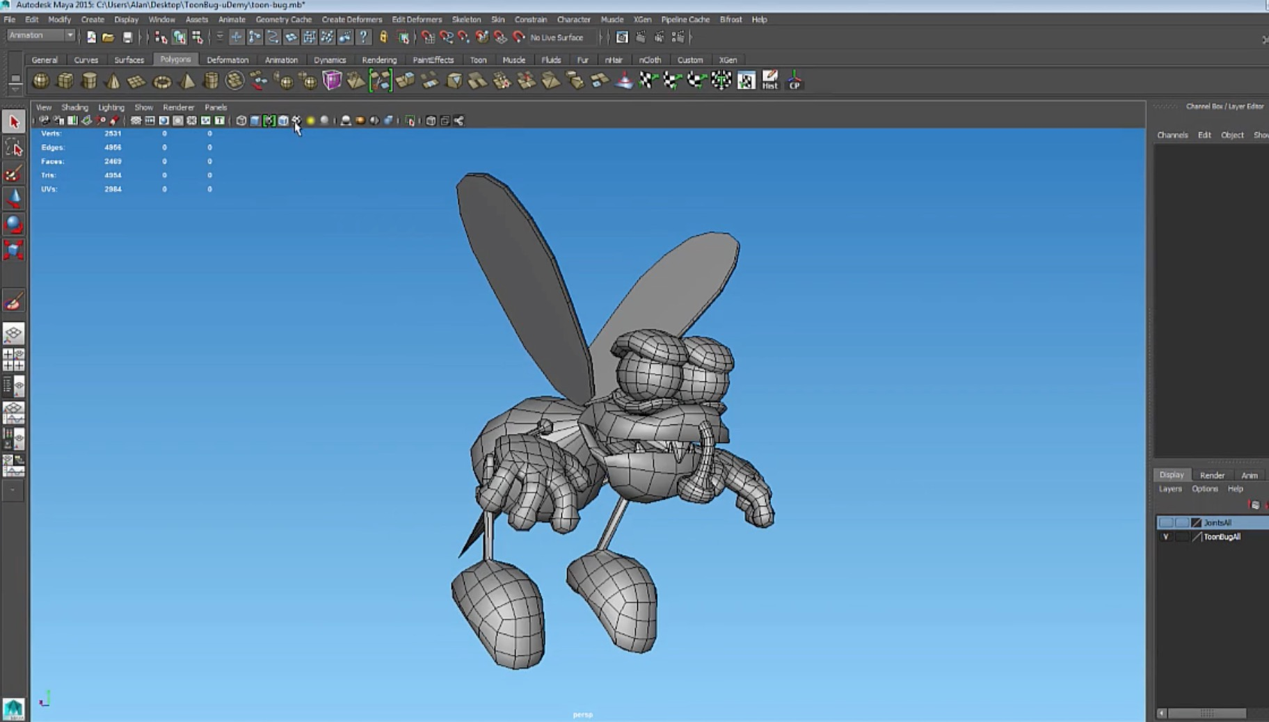Introduction to a Maya and Unity3D Video