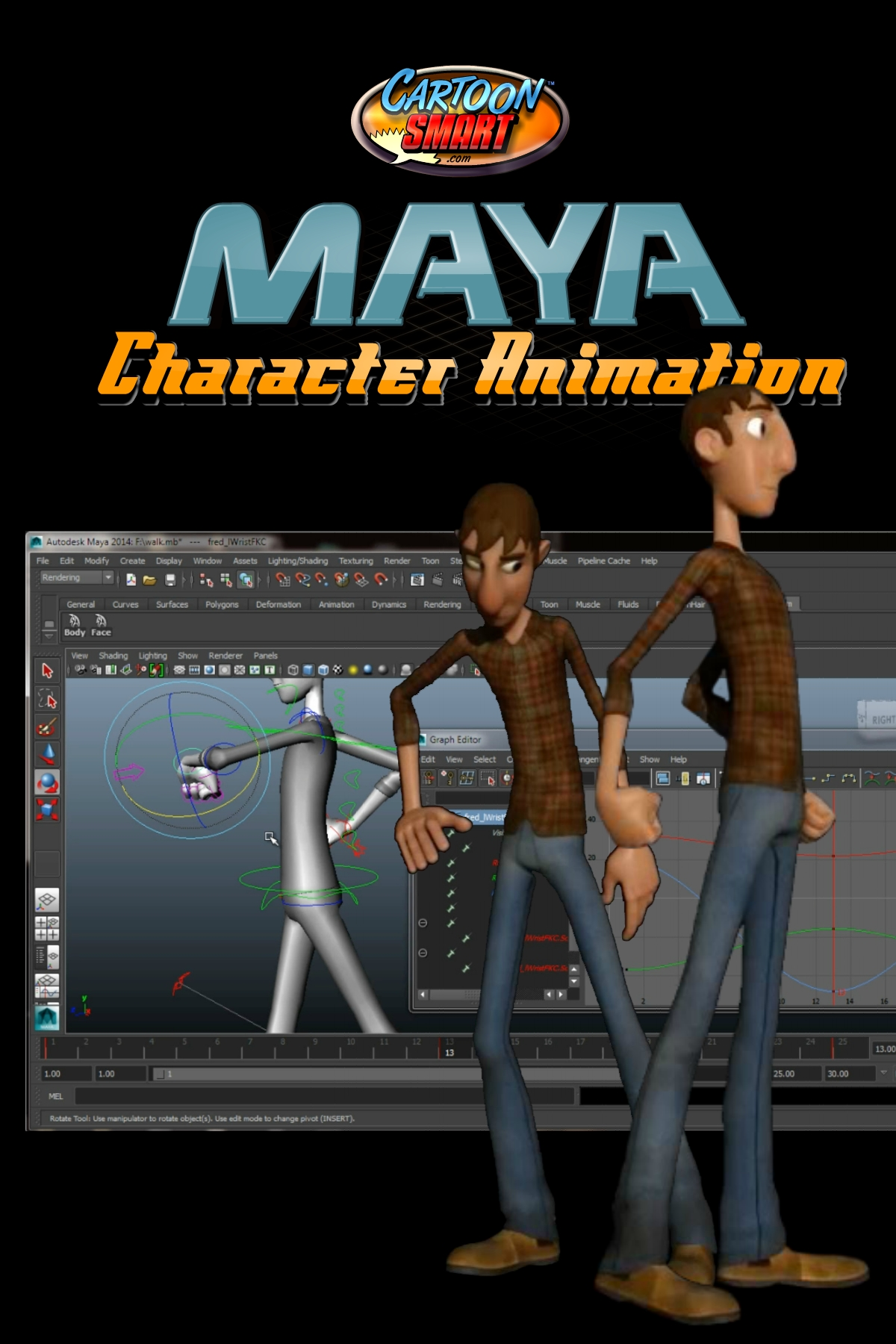 Maya Character Animation Tutorials