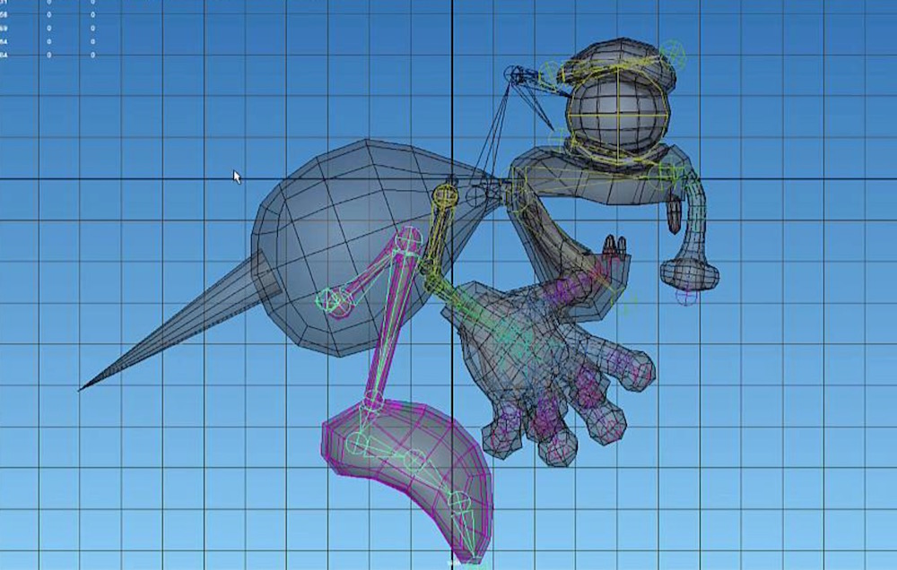 Rigging Video Tutorial in Maya for export to Unity
