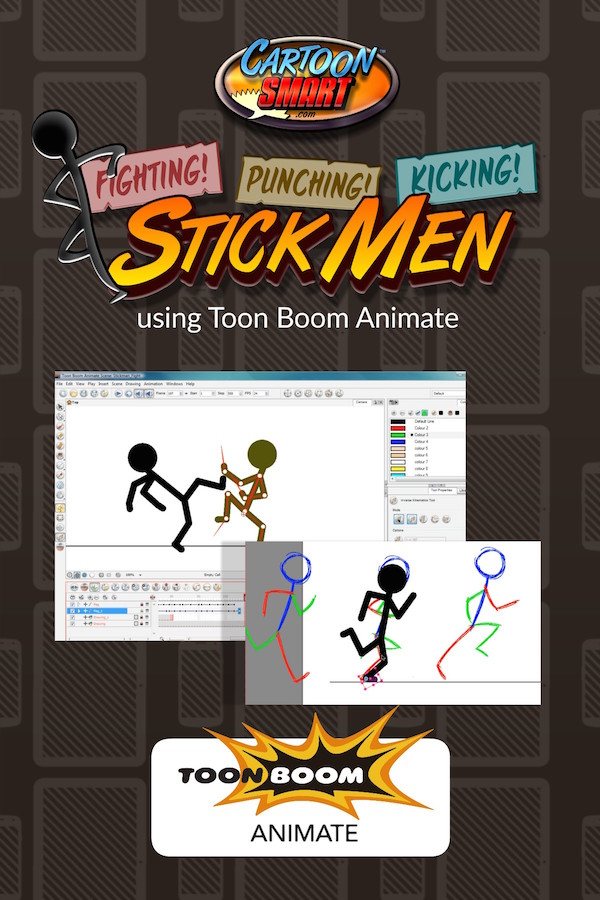 Stick Men Animation - Toon Boom Animate Video Tutorial