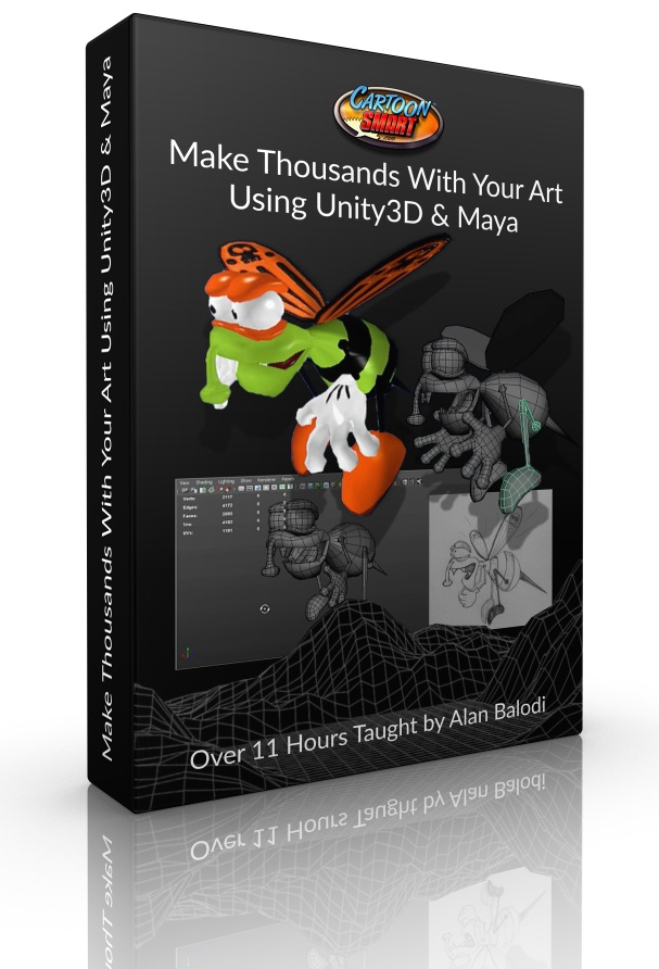 Make Thousands with Your Art Using Unity3D and Maya