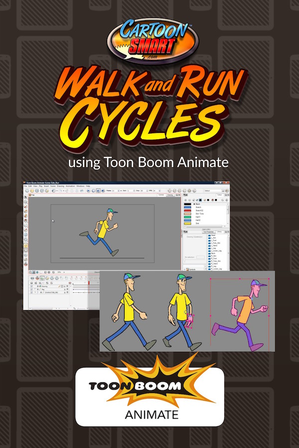 Walk and Run Cycles - Toon Boom Animate Video Tutorial