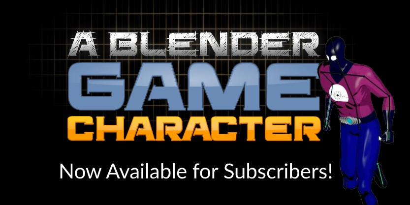 Blender video tutorials - Game Art Character