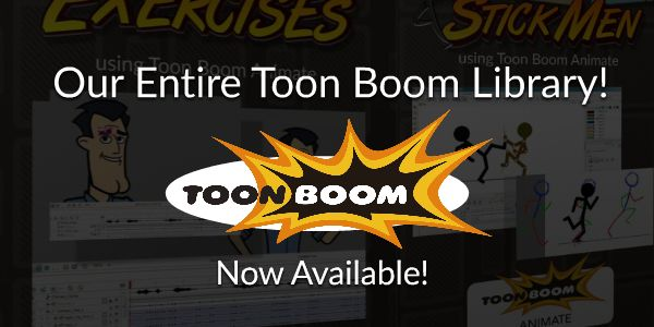 Our entire Toon Boom Library is now available for Subscribers!