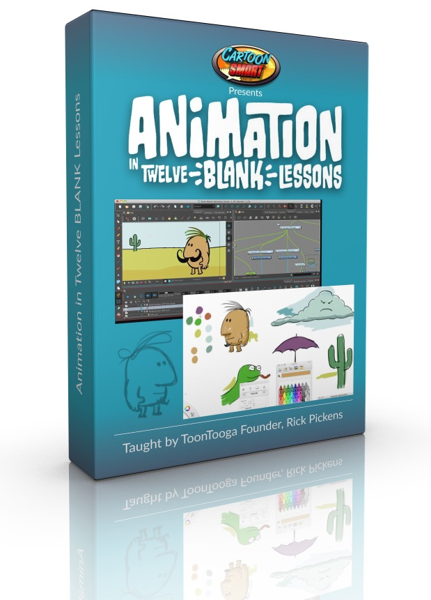 Animation in Twelve Blank Lessons