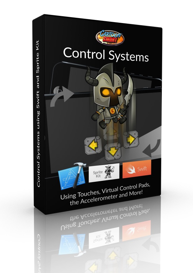Control Systems iOS Video Tutorials for Swift 1.2 and Sprite Kit