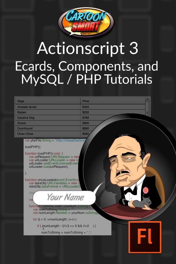 Ecards Components MySQL Video Tutorials