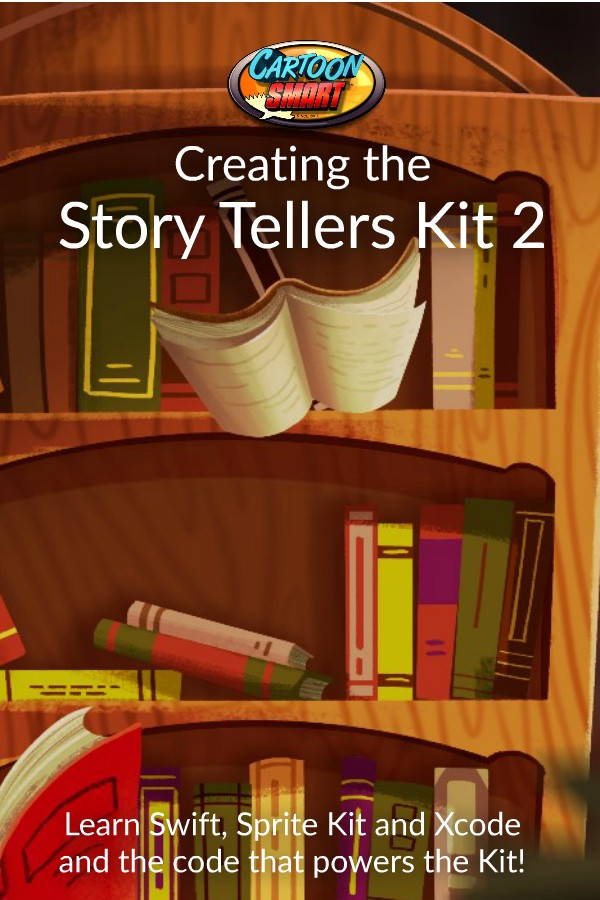 Creating the Story Tellers Kit 2 making of video tutorials