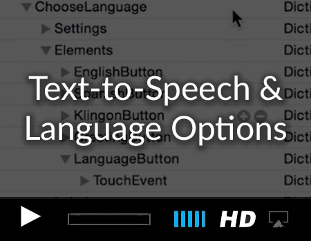 Text-to-Speech Options and Adding a Language Preference Menu to your iOS Story Book App