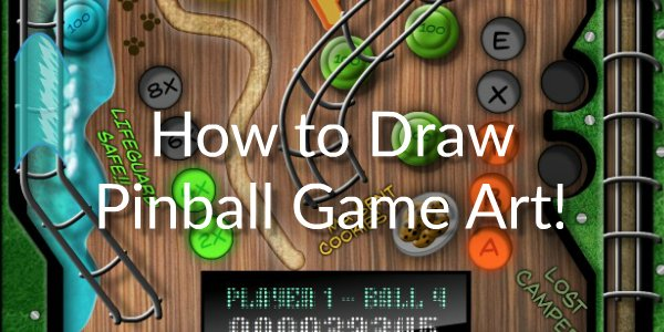PInball Game Art Banner