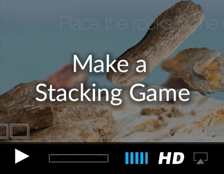 Make a Physics based stacking game with the Story tellers kit