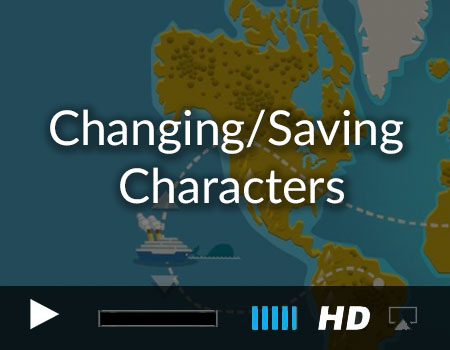 Changing/Saving Characters and Following Paths (Map demo part 1 of 3)