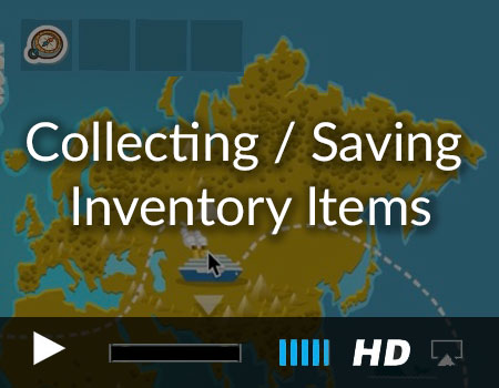 Collecting / Saving Inventory Items  (Map demo part 2 of 3)