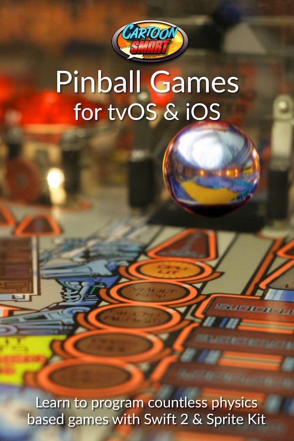 Pinball Games iOS tvOS Tutorials Swift 2 and Sprite Kit