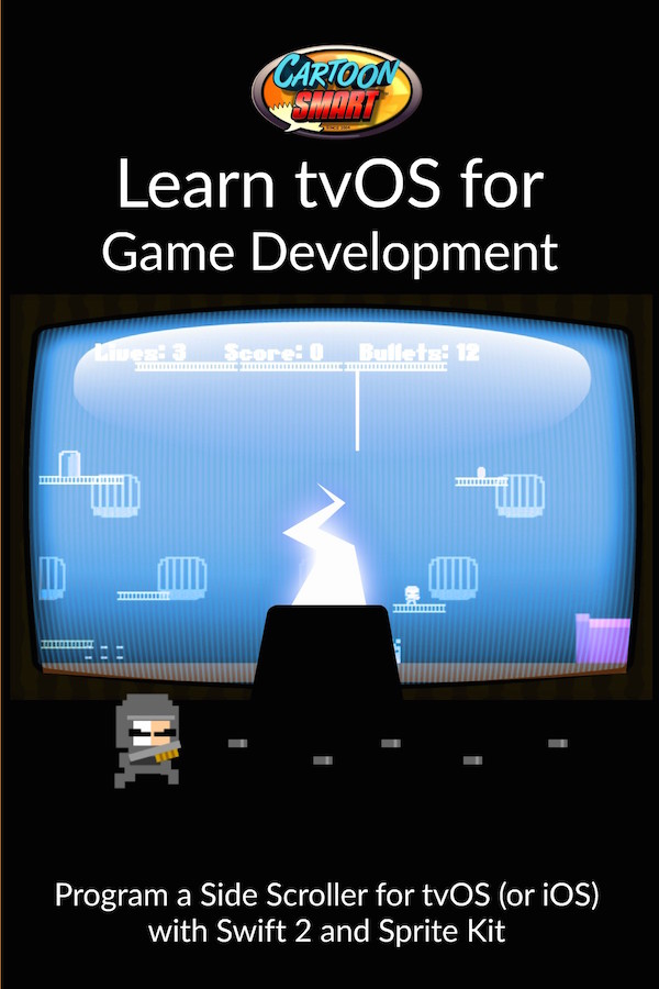 tvOS Video Tutorials for Game Development with Swift 2 and