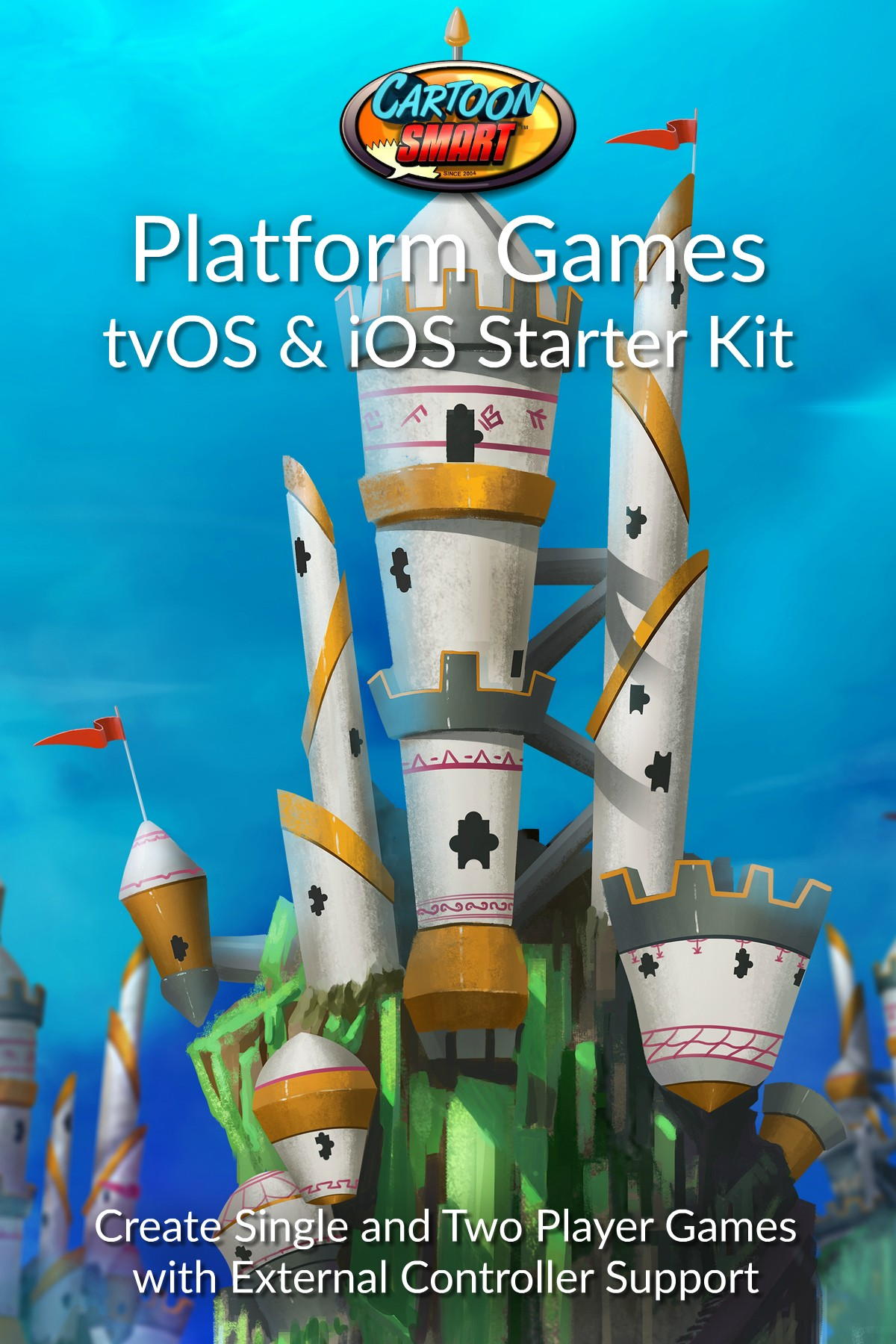 tvOS iOS Platform Games Starter Kit Box