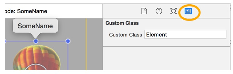 Custom Class Element in your iOS9 Children's Book App