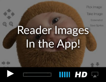 Pick Images from the Camera Roll and Mask them for an iOS Childrens Book App