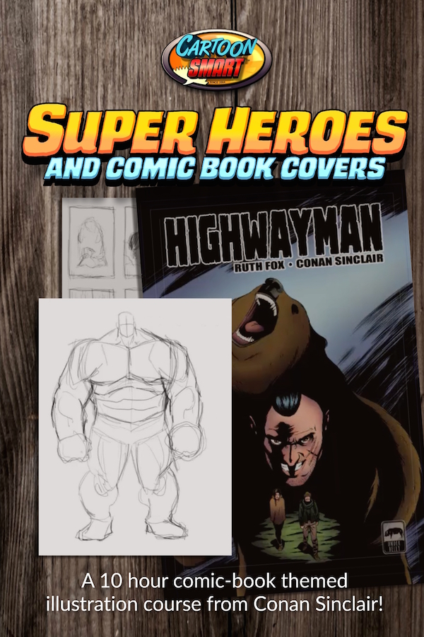 How to Draw Super Heroes and Comic Book Covers Video Tutorials