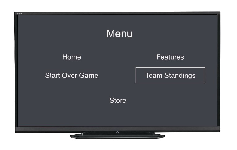 template screen on tvOS