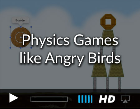 How to make an Xcode angry birds game