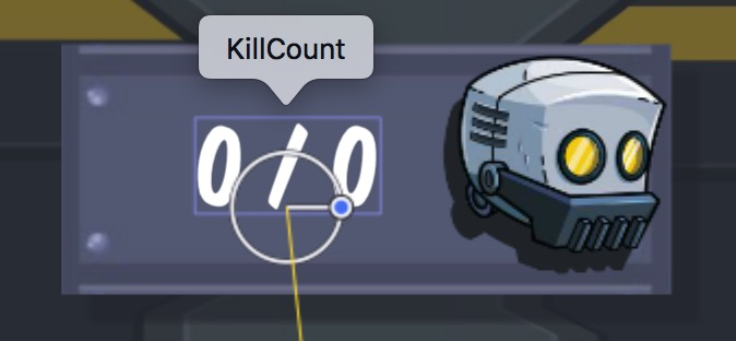 Kill Count SKLabelNode