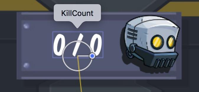 Kill Count SKLabelNode