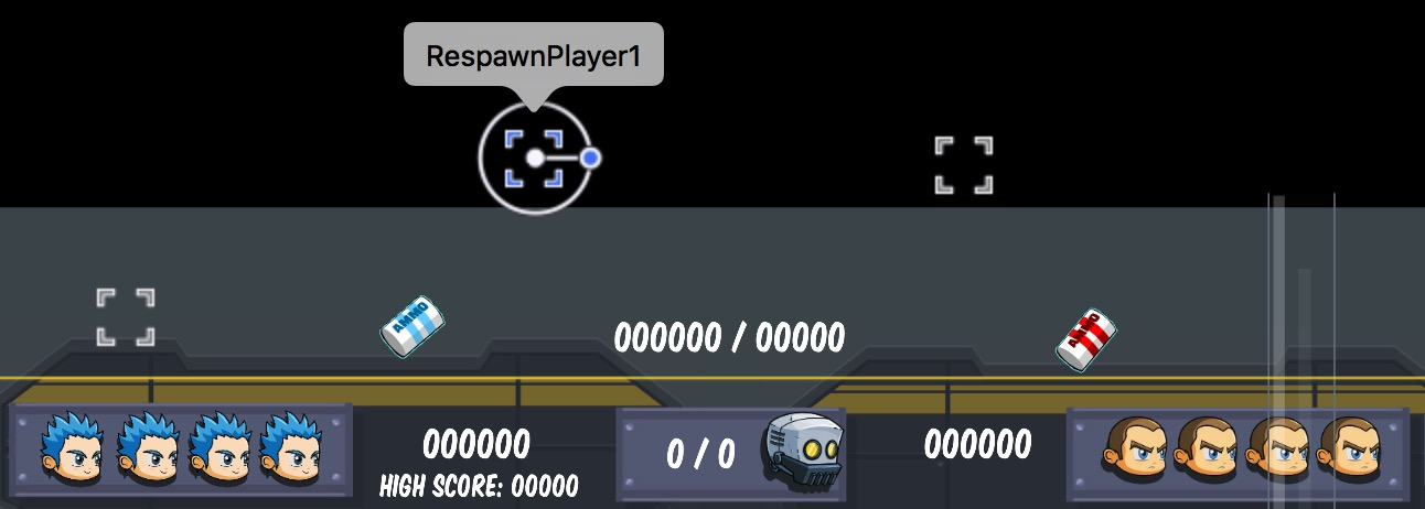 Respawn points in the tvOS Starter Kit