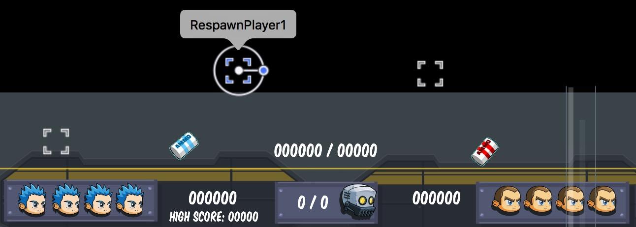 Respawn points in the tvOS Starter Kit