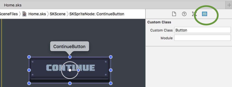 Custom class inspector in xcode