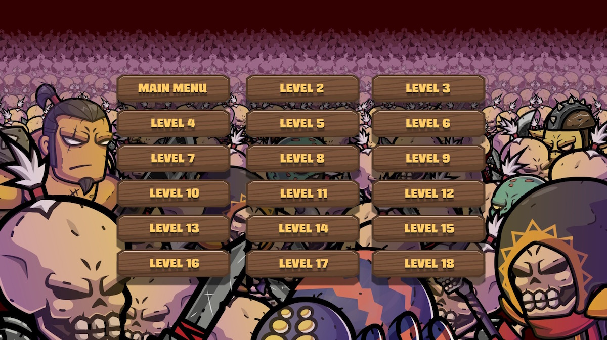 Replay levels
